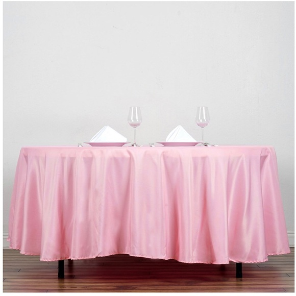 Other - Polyester round tablecloths
